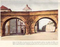Igreja de São Bento e aqueduto de São Sebastião, 1932