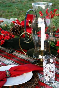 Christmas tablescape By Sweet Something Design