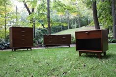Lascivious Lane Perception Mid Century Modern Bedroom Set (U.S.A., 1960's)