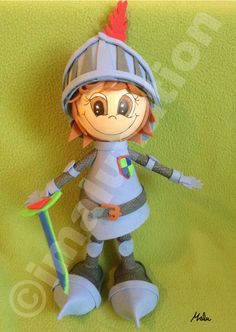 #Fofucho #caballero #Mike the #Knight  #Goma #Eva #Toy #doll #manualidades #crafts