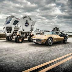 Classic Corvette vs. NASA rover?