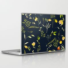 Yellow garden Laptop & iPad Skin