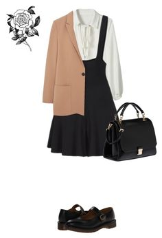 """Untitled #612"" by vero199638 on Polyvore featuring Dr. Martens, Miu Miu, MANGO and Forever 21"