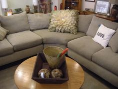 gorgeous new sectional!