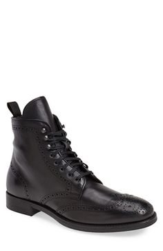 To Boot New York 'Brennan' Wingtip Boot available at #Nordstrom