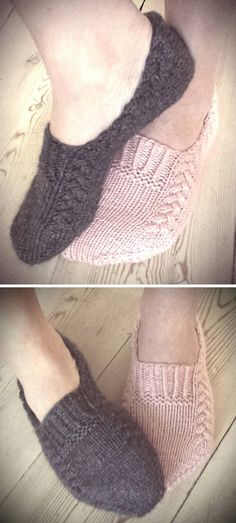 Nettle Essence - Knitting Pattern - i feel knitty / school - Knitting Ideas Knitting Stitches, Knitting Designs, Knitting Socks, Knitting Patterns Free, Knit Patterns, Free Knitting, Knit Shoes, Crochet Shoes, Knit Crochet