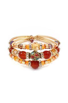 Kadeline Bracelet in Warm Agate