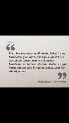 Dostoyevski suç ve ceza Like Quotes, Book Quotes, More Than Words, True Words, Cool Words, Karma, Quotations, Psychology, Literature