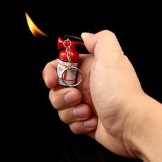 The Fire Extinguisher Lighter makes a great gift for the fire enthusiast in your life
