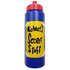 8ede3d9b1f36 Buy Michael s Secret Stuff Water Bottle Space Jam Michael Jordan Tune Squad  90 s