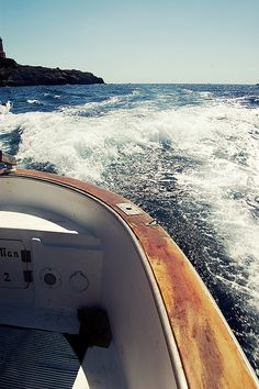Boating in Capri
