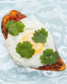 Servings: 1 INGREDIENTS1 sweet potato Refried black beansSalsa, to taste1 egg, friedCilantro, for garnishPREPARATIONCut sweet potato into thin slices, about ¼ inch thick.Place in toaster and set it to the maximum cook time. When it pops, flip the sweet potato slices over and toast 1 more time. Depending on the strength of your toaster and your preferences, you may need to toast it 1 more time after that.Remove from toaster and let cool enough to handle.Heat refried black beans and spread…