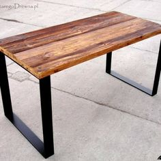 the best reclaimed wood table - buy it online http://zestaregodrewna.pl/produkt/stolik-blat-dwustronny/