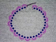 Free pattern for necklace Stella