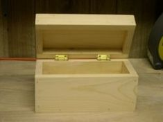 Pictured left is the box I'll be showing you how to build on this page. This was a fun project and only took a few hours to complete. This small wooden box doesn't have any complex joints and is the perfect project for a beginning woodworker. The...