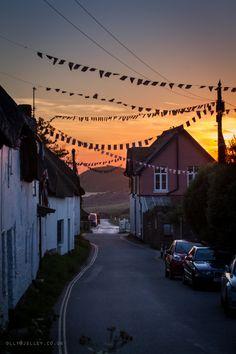Bantham Village, Devon, England