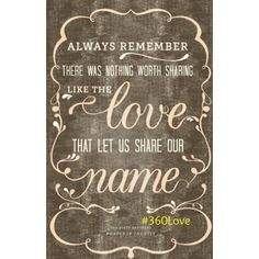 Tuesday's Thought: There are people who know what you are called. Then there are the ones who actually know your name. Good morning, Lovelies. ❤️  #360lovelies  #quotes #theavettbrothers #lovestory #360love #tuesdaythought 7/28