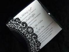classic black and white wedding invitations - Google Search