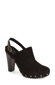 Kenneth Cole Reaction 'Look Away' Studded Slingback Bootie (Women) available at #Nordstrom