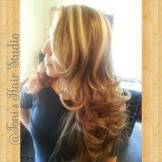 Toni's hair studio , beautiful gorgeous long hair
