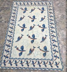 Aubusson Rugs, Small Rugs, Modern Rugs, Hand Knotted Rugs, Kilim Rugs, Vintage Rugs, Wool Rug, Pillow Covers, Floral Design