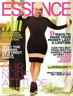 jill scott september 2014 essence cover dress Ekineyo PlusSizePrincess.com