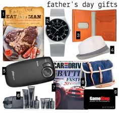 Father's Day is a hard holiday for me to do my traditional little gift guide for a few reasons.
