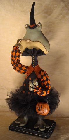 """""""Lil' Gertie"""" Spooky Froggie 2011  Pam Gracia"""