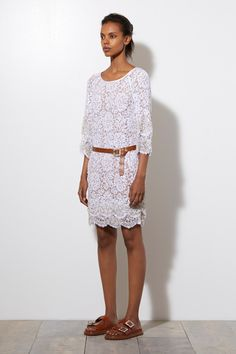The trend report: White and lacy -    Michael Kors Resort 2015