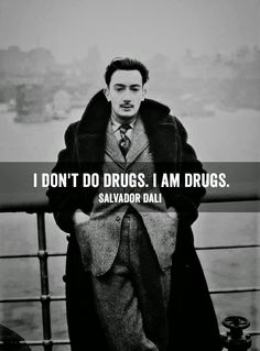 Roger Nimier Hussard Club: I am drugs. Dali