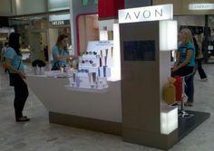 Quiosque Avon no Shopping Center Norte