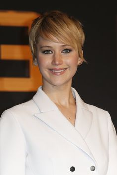 Jennifer Lawrence with new short cut | Hair love it ...