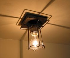 Hampden. Industrial Ceiling Light by LampGoods on Etsy