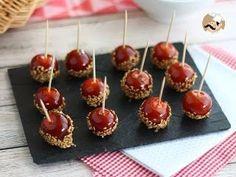 Tomates cherry caramelizados con sésamo, Receta Petitchef