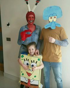 Mr krabs spongbob and squidward halloween costumes fancy dress