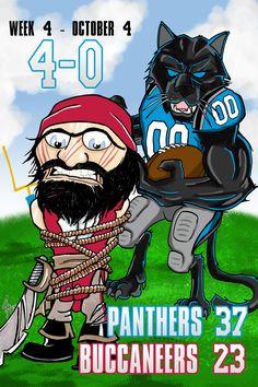 Carolina Panther defeat Tampa Bay Buccaneers Carolina Panthers Football, Panther Nation, Cam Newton, Tampa Bay Buccaneers, Sports Art, Wooden Signs, Rage, Man Cave, Nfl