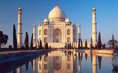 Taj mahal. Great example of space.