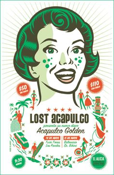 Lost Acapulco póster