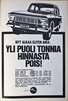 Päivän automainos: Nyt alkaa Eliten aika: Yli puoli tonnia hinnasta pois! Maserati, Lamborghini, Daihatsu, Koenigsegg, Rolls Royce, Buick, Aston Martin, Plymouth, Mazda