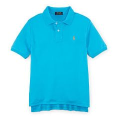 Cotton Interlock Polo Shirt - Boys 6 - 14 years Polo Shirts & Rugbys - Ralph Lauren Germany