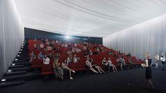 Keskustakirjaston kohtaamisaulan ja tapahtumatilojen yhteyteen on suunnitteilla myös elokuvateatteri ja auditorio.