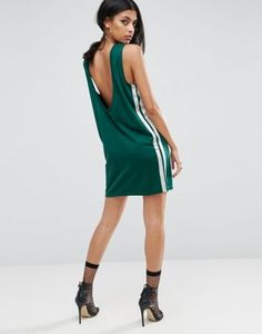 ASOS Mini Sports Dress With Low Back