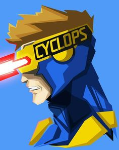 HD wallpaper: Cyclops from Marvel illustration, Marvel Comics, blue background Marvel Comics Art, Marvel Heroes, Marvel Characters, Marvel Avengers, Bebe Love, Art Design, Comic Character, Fan Art, Comic Books Art