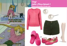 "sailormoonoutfits: "" Gabrielle Rocha Neve flat in Berry Victoria's Secret cotton logo slipper in Pink Soda Missoni pale rose socks Moto high waisted hotpant in Moss Givenchy 'Aqua' glass pearl stud. Sailor Moon Outfit, Sailor Moon Cosplay, Sailor Moon Art, Casual Cosplay, Cosplay Outfits, Anime Outfits, Cosplay Costumes, Cute Outfits, Fandom Fashion"