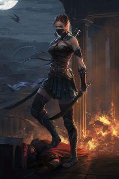 Dark Fantasy Art, Fantasy Girl, Fantasy Art Women, Fantasy Artwork, Fantasy Princess, Warrior Princess, Warrior Girl, Warrior Women, Fantasy Warrior