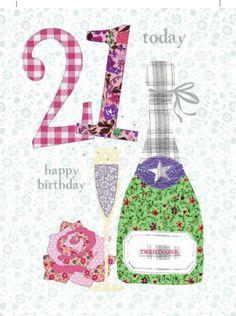 Happy 21st Birthday Quotes, Happy Birthday Posters, Happy Birthday Celebration, 21st Birthday Cards, Art Birthday, Birthday Images, Happy Birthday Wishes, Birthday Greeting Cards, Birthday Greetings