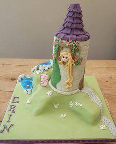 Erins Tangled cake by elizabeth.stevens33, via Flickr