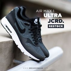 #nike #airmax1 #jcrd #sneakerbaas #baasbovenbaas  Nike Air Max 1 Ultra JCRD - RESTOCK, priced at €149,95  For more info about your order please send an e-mail to webshop #sneakerbaas.com!
