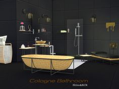 Sims 4 CC's - The Best: Bathroom by ShinoKCR