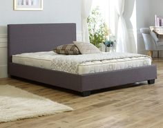 Duvall Fabric Bed Frame
